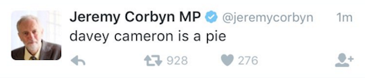 Davey Cameron Is A Pie
